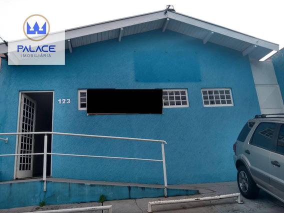 Casa Com 1 Dormitório Para Alugar, 156 M² Por R$ 2.500/mês - Vila Independência - Piracicaba/sp - Ca0110