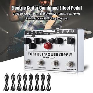 Mosky Eléctrico Guitarra Combinado Efecto 3 Efectos ( Compre