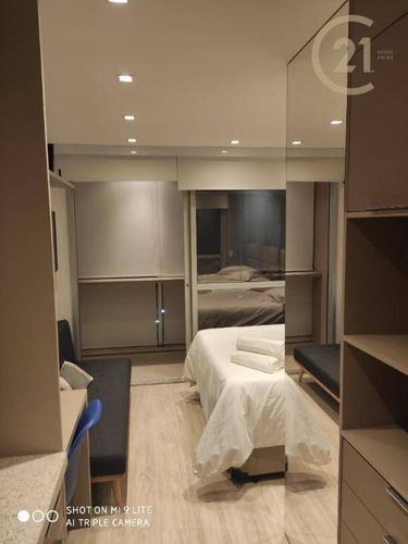 Studio Com 1 Dormitório À Venda, 22 M² Por R$ 375.000,00 - Cerqueira César - São Paulo/sp - St0350