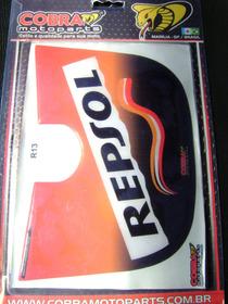 Protetor De Rabeta Resinado Yamaha Ybr Repsol 13