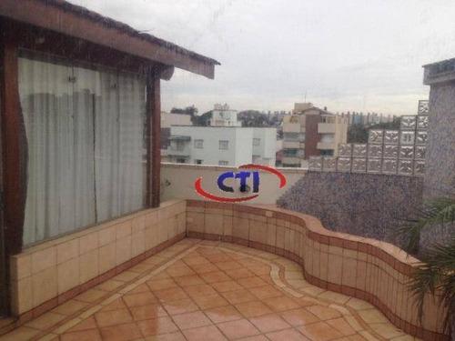 Imagem 1 de 23 de Cobertura Residencial Para Venda E Locação, Vila Marlene, São Bernardo Do Campo - Co0038. - Co0038