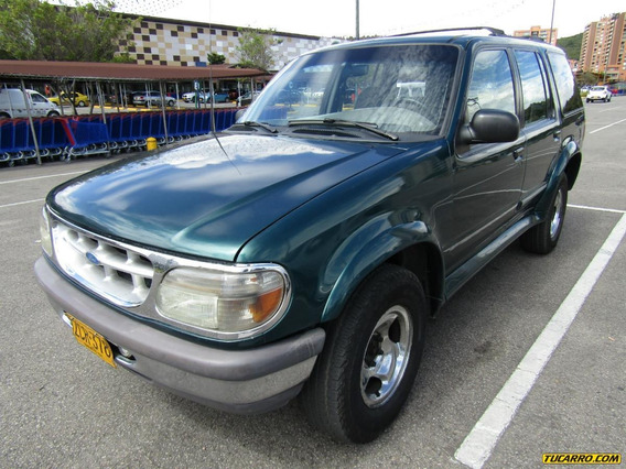 Ford Explorer Xlt At 4000cc Aa 4x4