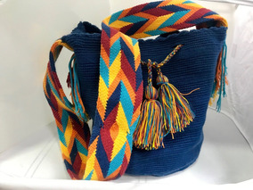 Bolsa Wayuu Artesanais Original Colombiana