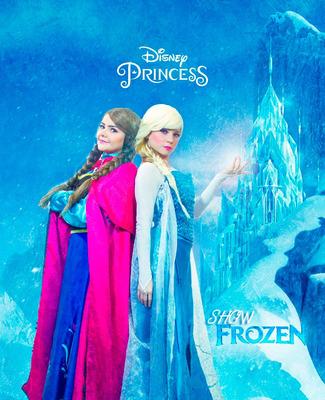 Frozen Ana Elsa Princesas Personajes Fiestas Shows