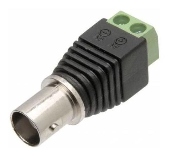 Conector Adaptador Plug Borne Bnc Femea