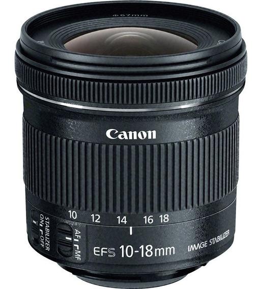 Canon Ef-s 10-18mm F / 4.5-5.6 Is Lente Stm
