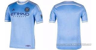 Camisa De Futebol New York City Fc Primary Authentic Jersey