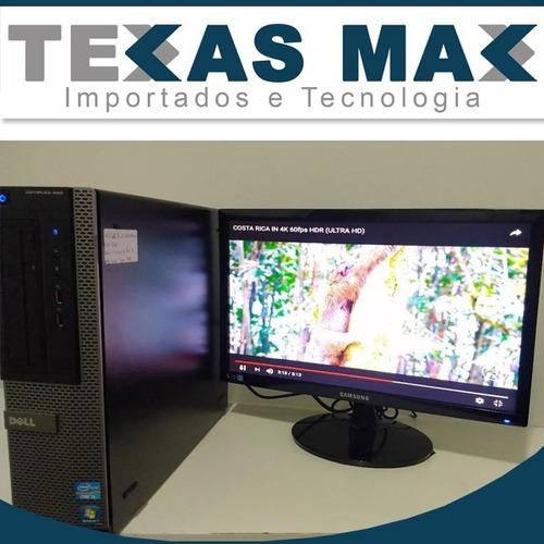 Computador Dell Slim Core I3 +monitor 17 +teclado +mouse