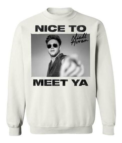 Sudadera Hoodie Niall Horan Nice To Meet Ya