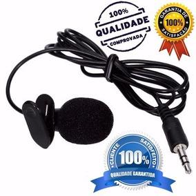 Kit 3 Microfone Lapela Mf1 Stereo P/ Youtuber