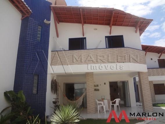 Casa Condominio Meditarrane Na Beira Mar Da Praia De Tabatin