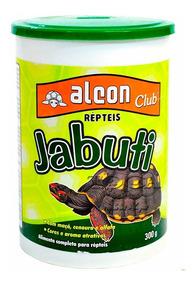 Jabuti Alcon 300g - Toca Dos Peixes