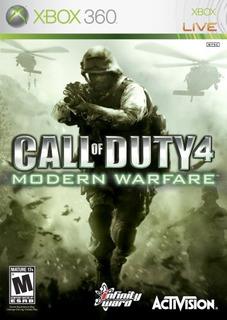 Juegoscall Of Duty 4 Modern Warfare - Xbox 360..