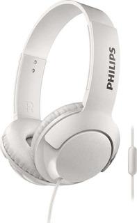 Auricular Philips Bass+ Microfono Atienda Llamada Smart 3075