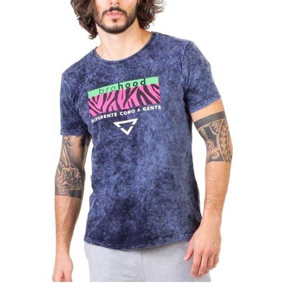 Camiseta Print Brohood Azul