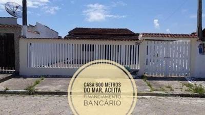 Vendo Casa 600 Mts Do Mar Lado Praia No Gaivota Itanhaém Sp