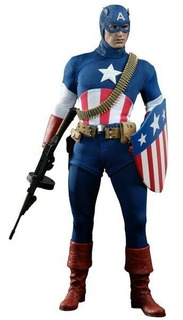 Hot Toys Captain America Star Spangled Toy Fair 2013