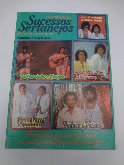 Revista De Cifras Os Maiores Sucessos Sertanejos Vol. 2