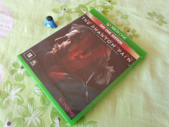 Xbox One Metal Gear Solid 5 The Phantom Pain Midia Fisica