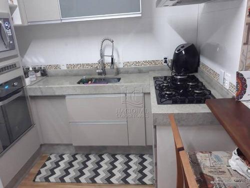Sobrado Com 2 Dormitórios À Venda, 69 M² Por R$ 265.000,00 - Jardim Santo André - Santo André/sp - So3899