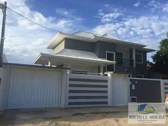 Casa Para Venda Em Araruama, Pontinha, 3 Dormitórios, 1 Suíte, 2 Banheiros, 4 Vagas - 118
