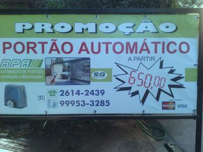 Automatização De Portões
