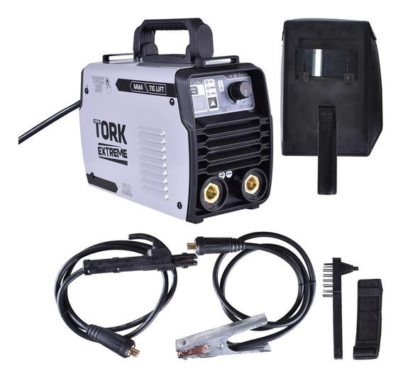 Inversor De Solda Tig Lift + Mma 250 Amperes Tork Ite-11250