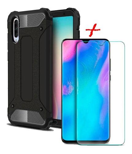 Estuche Antichoque + Vidrio Templado 2d Xiaomi Mi A3