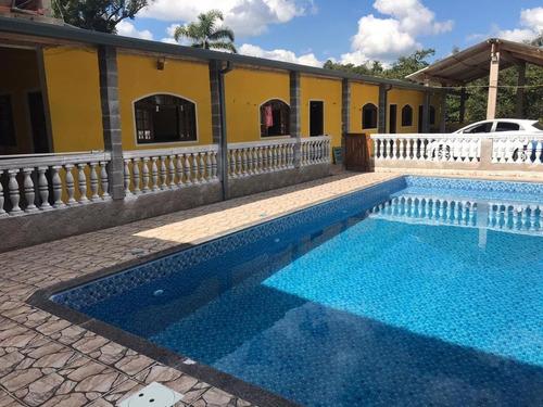 Chácara Com 4 Dormitórios À Venda, 200 M² Por R$ 380.000,00 - Verava - Ibiúna/sp - Ch0040