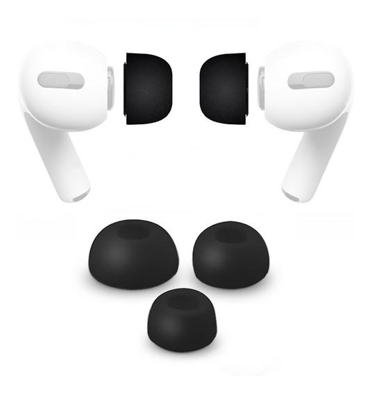 Kit Pmg Fixador Auricular Borracha Compatível Cm AirPods Pro