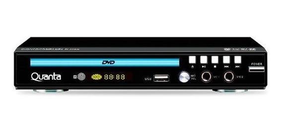 Dvd Player - Hdmi - Usb - 5.1 Channel Entrada 2 Microfones