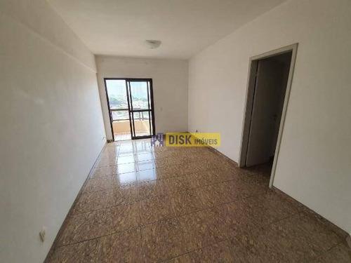 Apartamento Com 3 Dormitórios, 100 M² - Venda Por R$ 350.000,00 Ou Aluguel Por R$ 1.590,00/mês - Vila Valparaíso - Santo André/sp - Ap2034