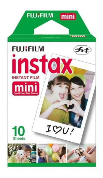 Filme P/ Câmera Instantânea Fujifilm Instax Mini 10 Unidad