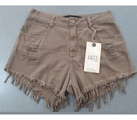 Short Jeans Lady Rock Kit 2 Unidades Promoção Frete Grátis