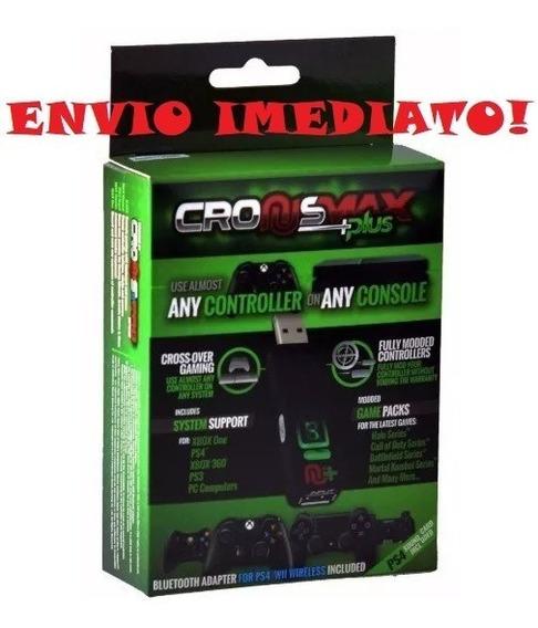 Cronusmax Plus Mouse Teclado E Controles No Ps3 Ps4 Xbox One