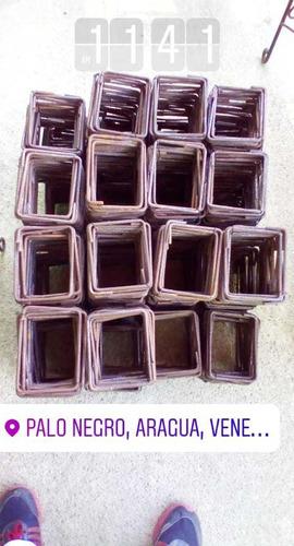 Zunchos 15x20 Y 20x20 Diámetro 6 Mm Paquetes De 25 Zunchos