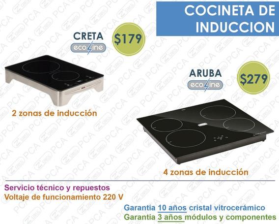 Cocineta - Encimera Inducción 2 Y 4 Zonas - Con Garantía