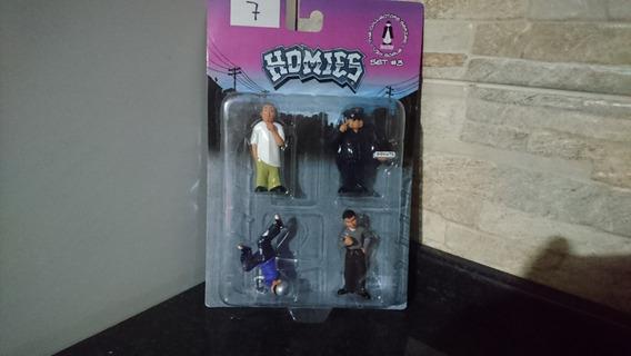 Bonecos Homies - Novo - Jada - Set #3 - Diorama