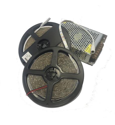 Imagen 1 de 4 de Tira Led Calida Con Driver  Ideal Gargantas 15metros