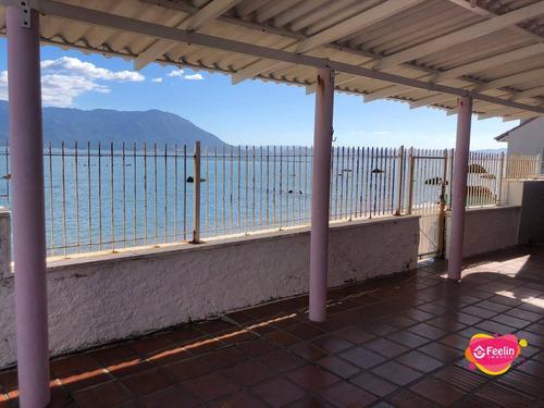 Imagem 1 de 30 de Casa Com 4 Dormitórios De Frente Para O Mar À Venda, 231 M² Por R$ 2.300.000 - Ribeirão Da Ilha - Florianópolis/sc - Sc - Ca0150_feelin
