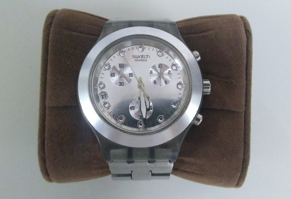 Relógio Swatch Irony Diaphane Modelo Svck4038g Original