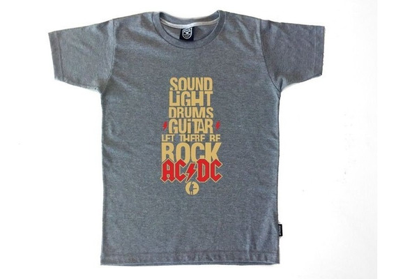 Remera Ac/dc Let There Be Rock - Hombre Vitalogy