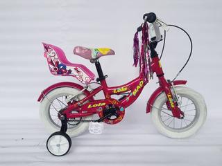 Bicicleta Infantil Niña - Mao Lola Rodado 12