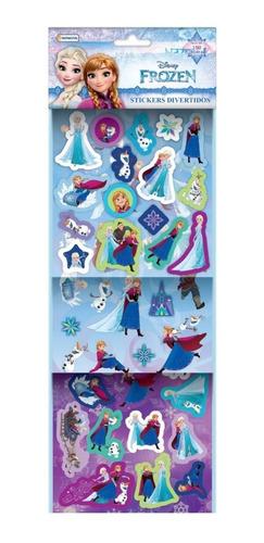 Set Stickers Divertidos Disney Originales Relieve Planchas