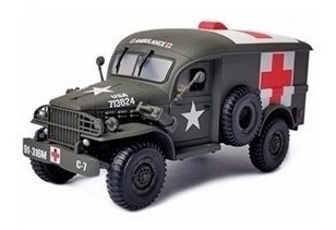 Caminhão Us Army 4x4 Ambulance 1:32 Forces Of Valor 80062
