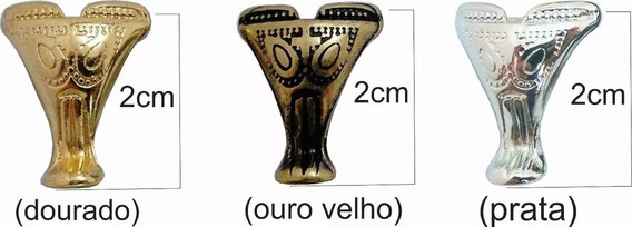 104 Pézinhos Pata De Elefante P/ Caixas Mdf Artesanato