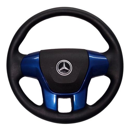 Volante Esp Caminhão Mercedes-benz Ralk Rallye Azul Mb 2831