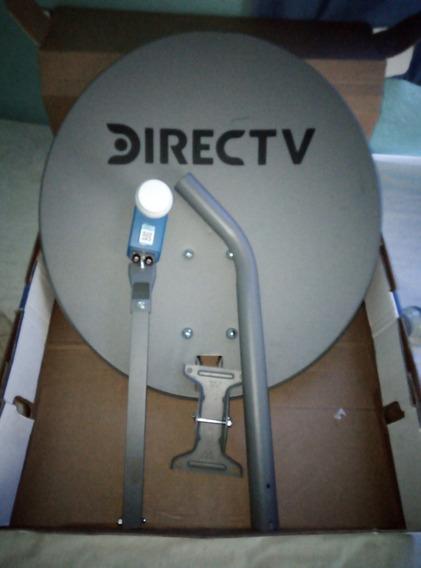 Antena Directv Foco Lente Lnb Azul Dual Hd Nueva 29$