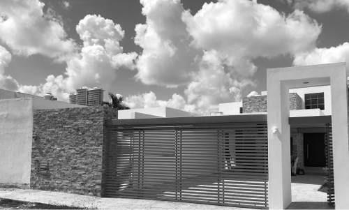 Residencia En Montebello Nueva Equipada Y De Una Planta