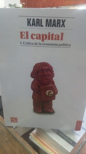 Imagen 1 de 2 de El Capital. Crítica De La Economía Política. Marx. Fondo